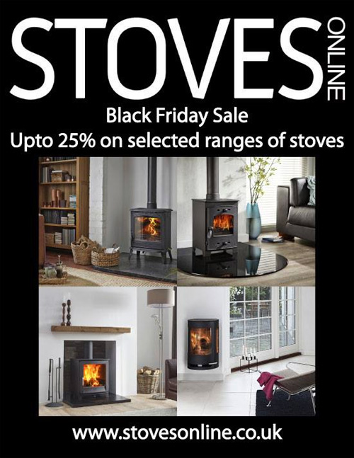 Black friday stove sale at Stovesonline