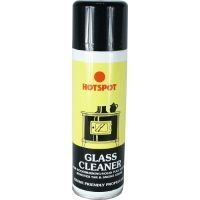 Hotspot glass cleaner