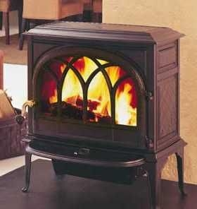 Jotul F400 1 door multi fuel stove