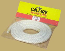 Ceramic thermal rope seal