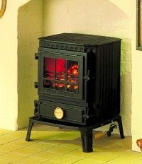 Coalbrookdale Much Wenlock multi fuel stove