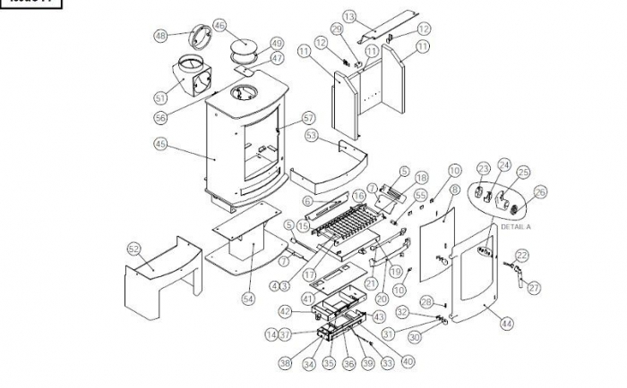 Exploded Diagram For Charnwood Cove 3 Stove